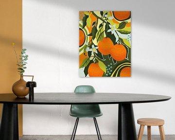 Zoete clementine II, Megan Gallagher van Wild Apple