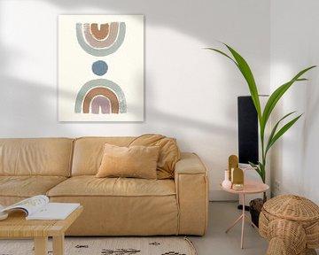 Woestijn regenbogen II munt, Moira Hershey van Wild Apple