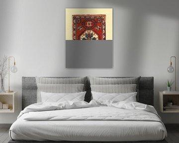 Marokkaanse tapijt I Blue, Farida Zaman van Wild Apple