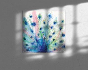 Peacock glorie IV, Dina June van Wild Apple