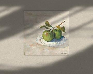Groene appel i neutraal, Carol Rowan van Wild Apple