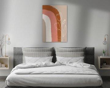 Woestijn zonsopgang IV, Becky Thorns van Wild Apple