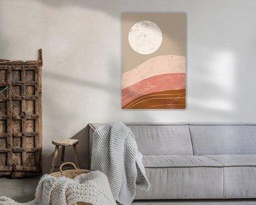 Woestijn zonsopgang i, Becky Thorns van Wild Apple
