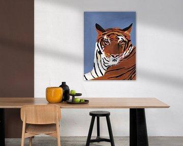 Kleurrijke tijger, Pamela Munger van Wild Apple