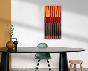 Textured Stripes I, Jane Davies van Wild Apple