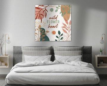 Blossom abstrait VI, Veronique Charron