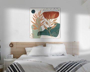 Blossom abstrait II, Veronique Charron