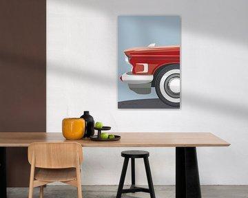 American Vintage Car III, Omar Escalante von Wild Apple