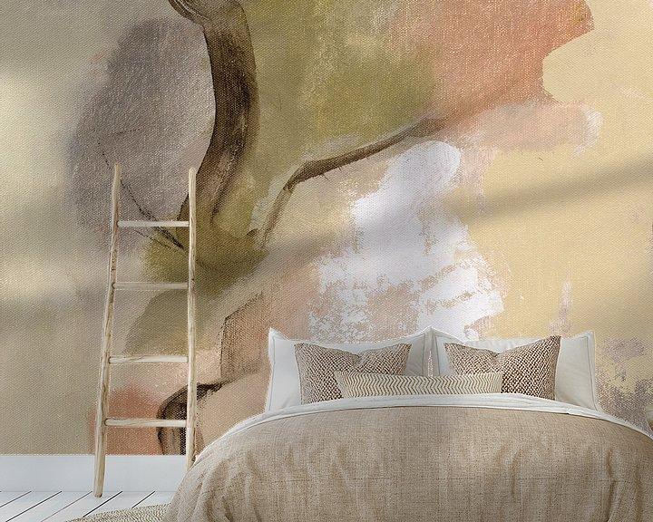 Sfeerimpressie behang: Weide Bekijk ik, Silvia Vassileva van Wild Apple