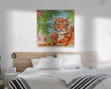 Tiger im Ruhezettel, Kellie Day von Wild Apple