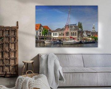 De Haven met de Zijlpoort van Dirk van Egmond