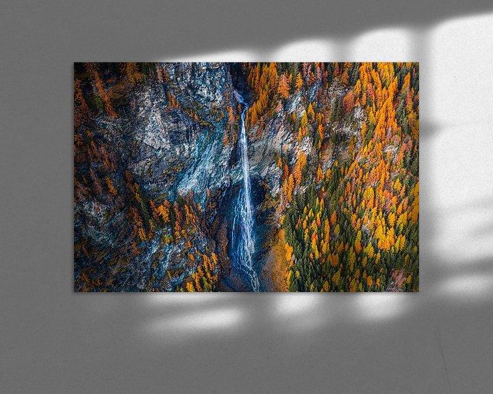 Sfeerimpressie: Waterfall austria van Thomas Bartelds