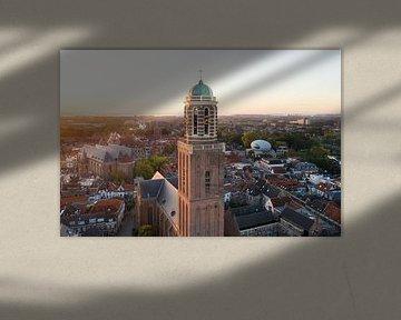 Peperbus zonsopgang, Zwolle van Thomas Bartelds