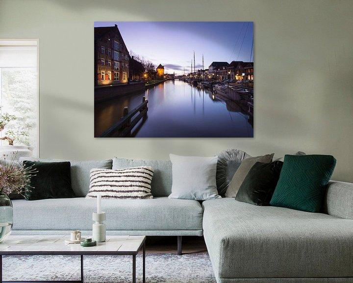 Sfeerimpressie: Zwolle in prachtlicht van Hanske Kroon