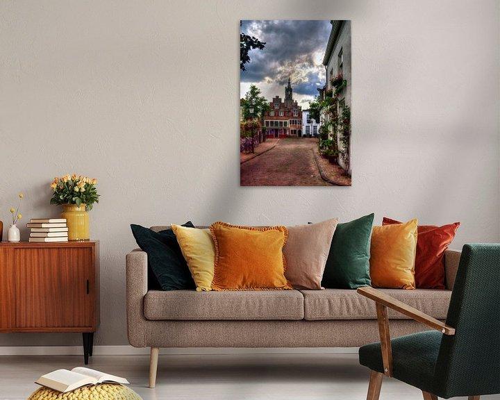 Sfeerimpressie: Bloemendalse Binnenpoort historisch Amersfoort van Watze D. de Haan