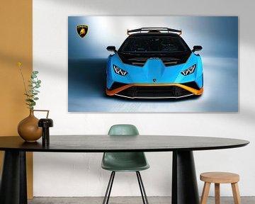Lamborghini Huracán STO met embleem