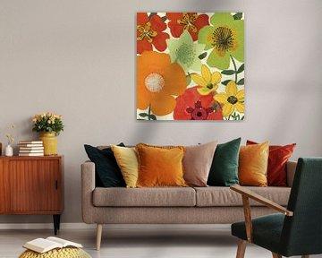 Tuin Brights I, Pela Studio van Wild Apple