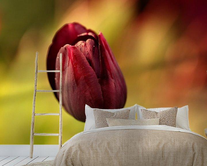 Sfeerimpressie behang: de tulp van Yvonne Blokland