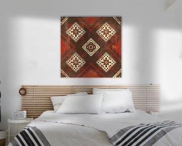 Marokkaanse tegels Spice IV, Cleonique Hilsaca van Wild Apple