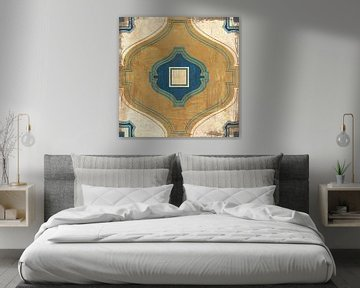 Marokkaanse tegels blauw x, Cleonique Hilsaca van Wild Apple