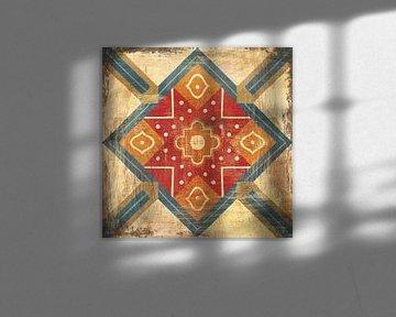Marokkaanse tegels IX, Cleonique Hilsaca van Wild Apple