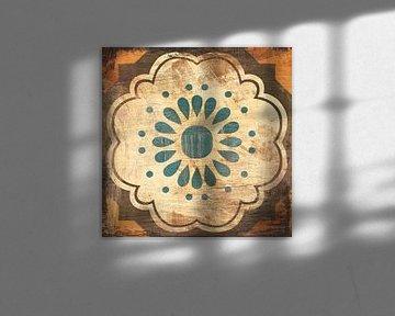 Marokkaanse tegels VIII, Cleonique Hilsaca van Wild Apple