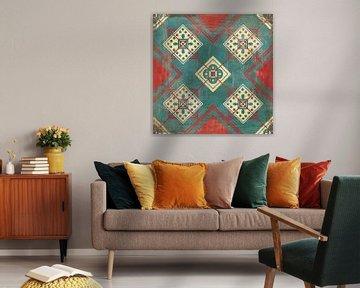 Marokkaanse tegels IV, Cleonique Hilsaca van Wild Apple