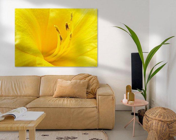 Sfeerimpressie: Yellow flower van Jessica Berendsen