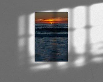 Sonnenuntergang am Praia do Amado