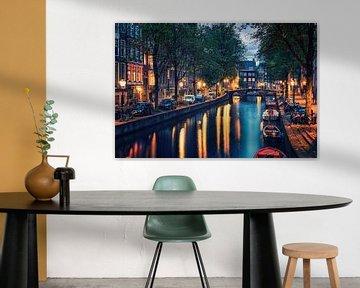 Amsterdam 's avonds van Manjik Pictures