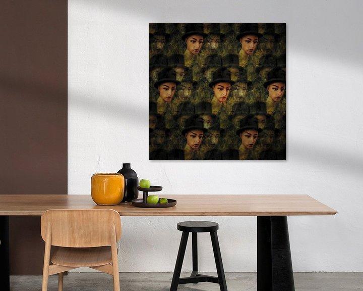 Sfeerimpressie: Golvend patroon van portretten van Ruben van Gogh