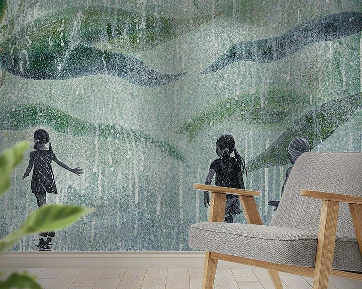 Beispiel fototapete: A HARD RAIN'S A-GONNA FALL von db Waterman