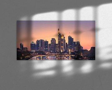 Zonsondergang Frankfurt am Main
