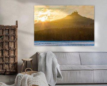 Lever de soleil au château de Hohenzollern