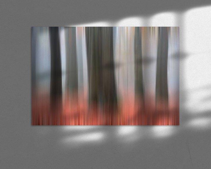 Sfeerimpressie: Omfloerste bomen van Franke de Jong