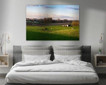 Gouden landschap van Werner Lerooy