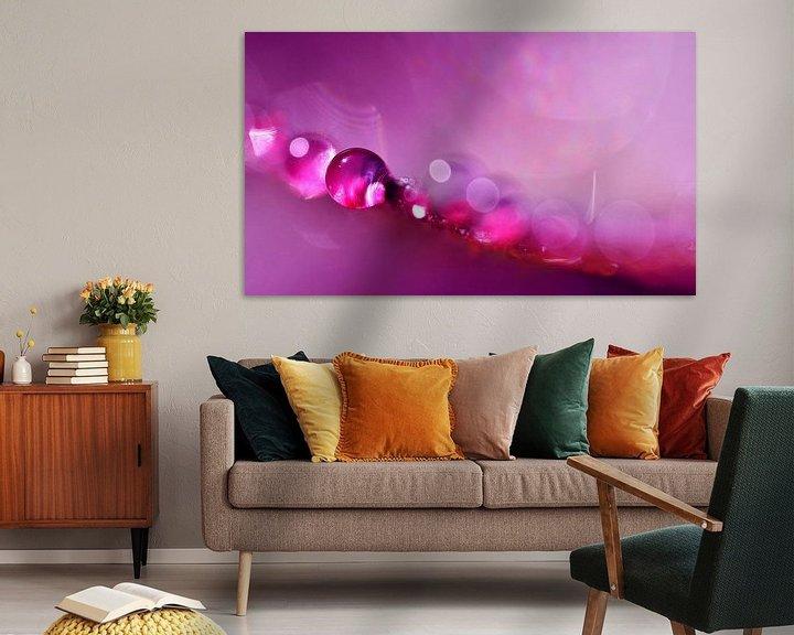 Sfeerimpressie: Drop Art Pink van Jessica Berendsen