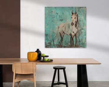 Cheval sans nom sur Mieke Daenen