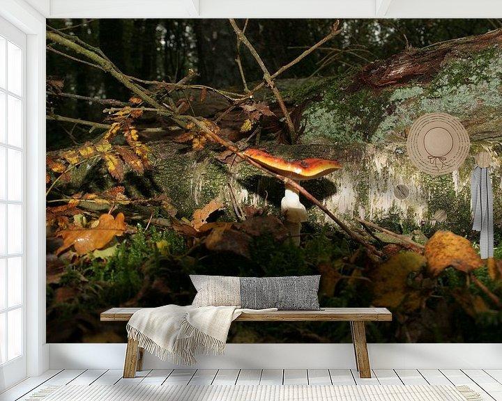 Sfeerimpressie behang: Herfst van Rick Nijman