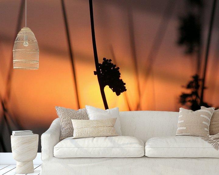 Sfeerimpressie behang: silhouette van Rick Nijman