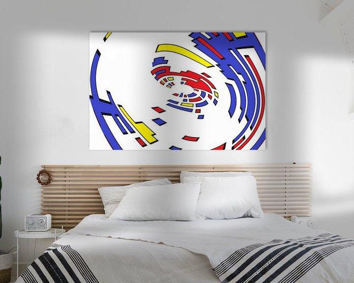 Sfeerimpressie: Sekco kolora kirlo 1 van Henk-Jan van Tuyl