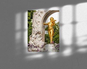 Monument à Johann Strauss à Vienne