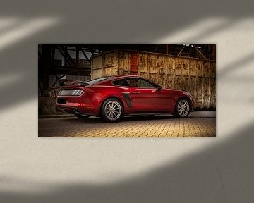 ford mustang muskelauto von Danny Akkermans photographic works.