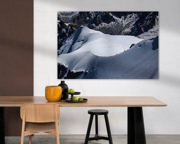Mont Blanc beklimming van Roland Smanski