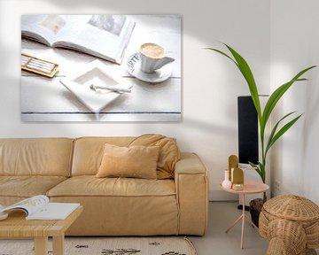 Zigarette, Espresso, Art von Kahl Design Manufaktur
