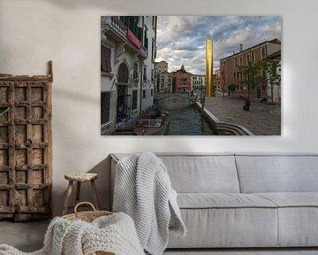 Der Goldene Turm - Venedig 2017 von arte factum berlin