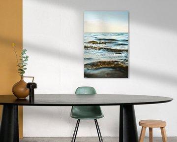 Zachte Noordzeegolven van Florian Kunde