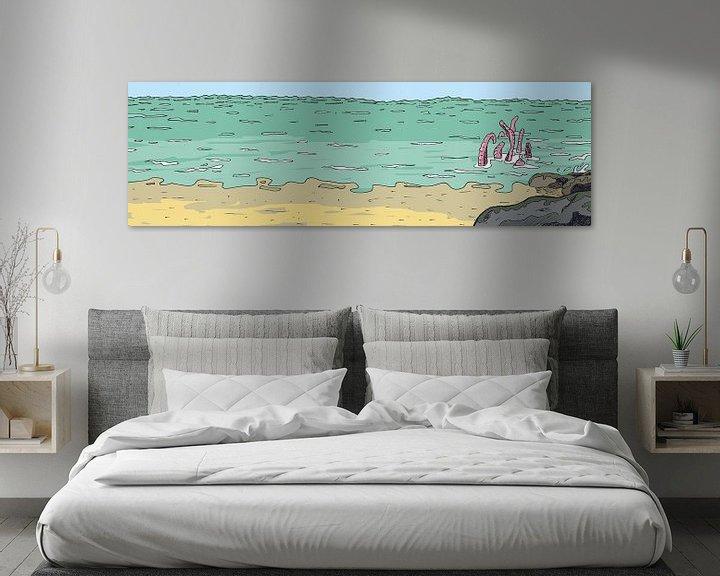 Sfeerimpressie: Krakye komt uit zee van Marq van Broekhoven