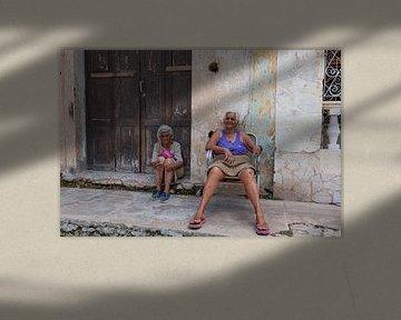 Deux femmes cubaines