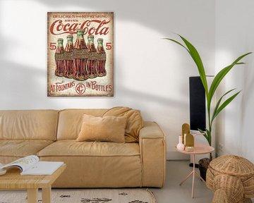 Vintage Coca Cola Poster